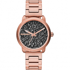 Zegarek DIESEL - Flare DZ5427 Rose Gold/Rose Gold. Czerwone zegarki damskie Diesel. Za 849,00 zł.