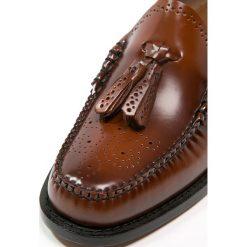 Derby męskie: G. H. Bass & Co. LARKIN  Półbuty wsuwane mid brown