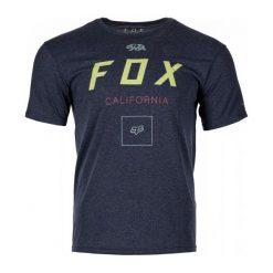 T-shirty męskie: FOX T-Shirt Męski Growled Ss Tech M Niebieski