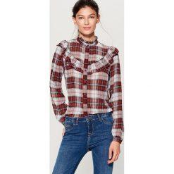 Koszula ze stójką - Wielobarwn. Szare koszule damskie marki Mohito, ze stójką. W wyprzedaży za 59,99 zł.