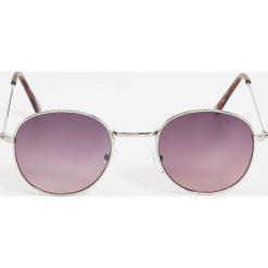 Okulary przeciwsłoneczne damskie aviatory: Okulary przeciwsłoneczne – Fioletowy
