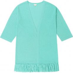 Kardigan kaszmirowy w kolorze turkusowym. Niebieskie kardigany damskie marki Ateliers de la Maille, z kaszmiru. W wyprzedaży za 591,95 zł.