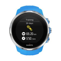 Zegarek unisex Suunto Spartan Sport Blue SS022653000. Niebieskie zegarki męskie Suunto. Za 1799,00 zł.