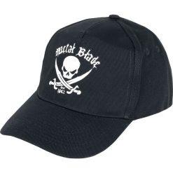 Metal Blade Pirate Logo Czapka baseballowa czarny. Czarne czapki zimowe damskie Metal Blade. Za 74,90 zł.