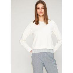 Answear - Bluza. Szare bluzy rozpinane damskie ANSWEAR, l, z bawełny, bez kaptura. W wyprzedaży za 49,90 zł.