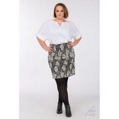 Spódniczki: Wzorzysta spódnica black&white Plus