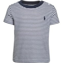 Polo Ralph Lauren STRIPE BABY Tshirt z nadrukiem summer navy/white. Niebieskie t-shirty chłopięce Polo Ralph Lauren, z nadrukiem, z bawełny. Za 129,00 zł.
