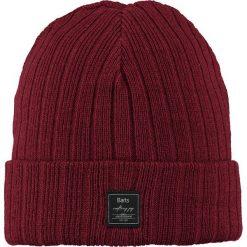 Barts - Czapka Parker. Czerwone czapki zimowe męskie marki Barts, na zimę, z dzianiny. W wyprzedaży za 39,90 zł.