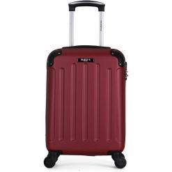 """Walizka """"Madrid"""" w kolorze bordowym - 45 x 35 x 20 cm. Czerwone walizki Hero & BlueStar, z materiału. W wyprzedaży za 115,95 zł."""