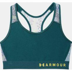 Biustonosze sportowe: Under Armour Biustonosz sportowy Armour Mid Kehole Mesh czarny r. L (1307198-716)