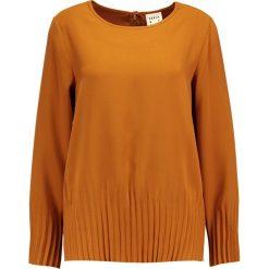 Bluzki asymetryczne: Karen by Simonsen PANTRY  Bluzka golden brown