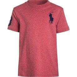 Polo Ralph Lauren BIG Tshirt z nadrukiem salmon heather. Pomarańczowe t-shirty chłopięce Polo Ralph Lauren, z nadrukiem, z bawełny. Za 149,00 zł.