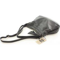 AMANDA - skórzana wygodna torebka Czarna. Czarne torebki klasyczne damskie FURRINI, ze skóry. Za 249,00 zł.