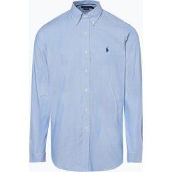 Polo Ralph Lauren - Koszula męska, niebieski. Niebieskie koszule męskie na spinki Polo Ralph Lauren, l, z bawełny, polo. Za 529,95 zł.