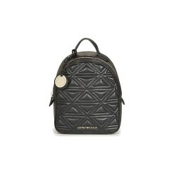 Plecaki Emporio Armani  ELOISE BACKPACK. Czarne plecaki damskie Emporio Armani. Za 1049,00 zł.