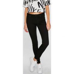 Lee - Jeansy Scarlett. Czarne jeansy damskie Lee, z bawełny. Za 319,90 zł.