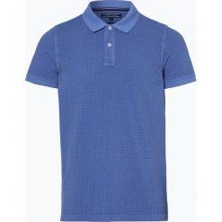 Tommy Hilfiger - Męska koszulka polo, niebieski. Niebieskie koszulki polo marki OLYMP SIGNATURE, m, paisley. Za 279,95 zł.