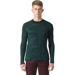 Adidas Koszulka męska ID Camo LS Tee zielona r. L (BQ0716). Zielone koszulki sportowe męskie Adidas, l. Za 141,94 zł.