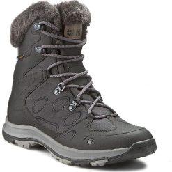 Śniegowce JACK WOLFSKIN - Thunder Bay Texapore Mid W 4020531 Phantom. Czarne buty zimowe damskie Jack Wolfskin, z materiału. Za 509,99 zł.