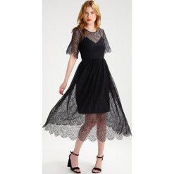 Długie sukienki: YAS YASAMINA Długa sukienka black