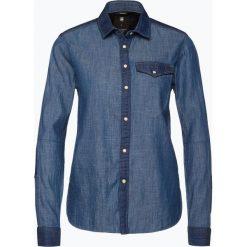 G-Star - Damska koszula jeansowa – Tacoma, niebieski. Niebieskie koszule jeansowe damskie G-Star, m, retro, z kontrastowym kołnierzykiem. Za 399,95 zł.