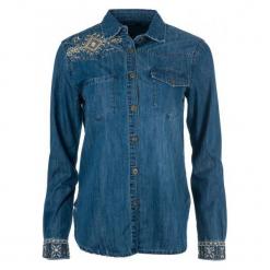 Desigual Koszula Damska Exotic Classic L Niebieski. Niebieskie koszule damskie marki Desigual, l. Za 399,00 zł.