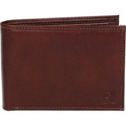 Portfel pm040 brąz. Brązowe portfele męskie marki Recman, ze skóry. Za 149,00 zł.