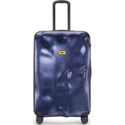 Walizka Icon duża granatowa. Szare walizki marki Crash Baggage, z materiału. Za 1120,00 zł.