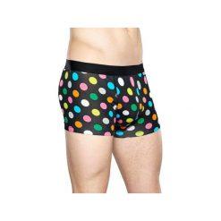 Bielizna męska Happy Socks - Big Dot Trunk (BDO87-9002). Szara bokserki męskie Happy Socks, z materiału. Za 79,90 zł.