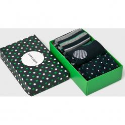 Jack & Jones - Skarpety (3-pack). Zielone skarpetki męskie Jack & Jones, z bawełny. Za 39,90 zł.