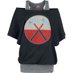 Pink Floyd EMP Signature Collection Koszulka damska czarny/szary. Czarne bluzki nietoperze marki Pink Floyd, m, z nadrukiem. Za 79,90 zł.