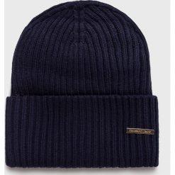 Trussardi Jeans - Czapka. Szare czapki zimowe damskie marki Calvin Klein Jeans, na zimę, z jeansu. Za 189,90 zł.