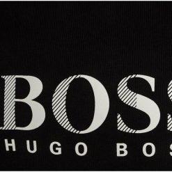 BOSS Kidswear KURZARM ZBASIC Tshirt z nadrukiem schwarz. Niebieskie t-shirty chłopięce z nadrukiem marki BOSS Kidswear, z bawełny. Za 149,00 zł.