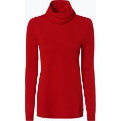Marie Lund - Damski sweter z wełny merino, czerwony. Czerwone golfy damskie Marie Lund, xl, z dzianiny. Za 229,95 zł.