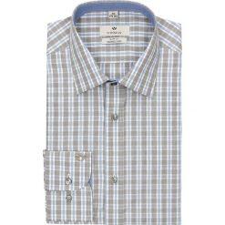 Koszula winberg 2556 długi rękaw slim fit brąz. Czerwone koszule męskie slim marki Recman, m, z długim rękawem. Za 109,99 zł.