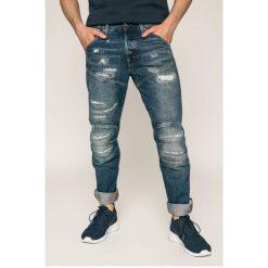 G-Star Raw - Jeansy 5620. Niebieskie jeansy męskie z dziurami marki G-Star RAW. W wyprzedaży za 449,90 zł.