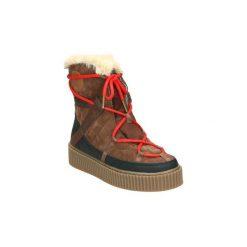 Śniegowce Gioseppo  41044. Brązowe buty zimowe damskie Gioseppo. Za 307,76 zł.