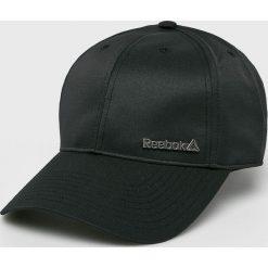 Reebok - Czapka. Czarne czapki z daszkiem męskie Reebok. W wyprzedaży za 49,90 zł.