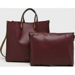 Nobo - Torebka. Brązowe torebki klasyczne damskie marki Nobo, z materiału, duże. Za 229,90 zł.