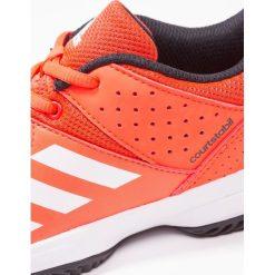 Adidas Performance COURT STABIL Obuwie do piłki ręcznej solar red/white/core black. Brązowe buty do koszykówki damskie marki adidas Performance, z gumy. W wyprzedaży za 183,20 zł.