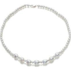 Naszyjniki damskie: Naszyjnik z pereł – (D)43 cm