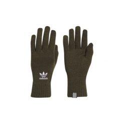 Rękawiczki adidas  Rękawiczki smartfonowe. Zielone rękawiczki damskie Adidas. Za 89,95 zł.