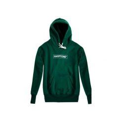 Bluza Hoodie Classic Harptone Green. Zielone bluzy męskie rozpinane Harp Team, l, z nadrukiem, z bawełny, z długim rękawem, długie. Za 229,00 zł.
