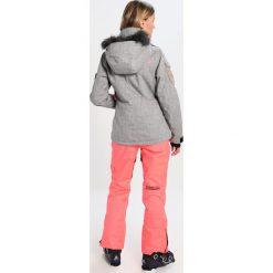 Superdry ULTIMATE SNOW SERVICE Kurtka snowboardowa light grey grit/fluro coral. Szare kurtki sportowe damskie marki Superdry, xs, z materiału. W wyprzedaży za 824,25 zł.