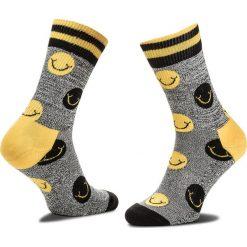 Skarpety Wysokie Unisex HAPPY SOCKS - ATSMI27-9000 Kolorowy Szary. Czerwone skarpetki męskie marki Happy Socks, z bawełny. Za 47,90 zł.
