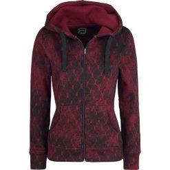 RED by EMP Freaking Out Loud Bluza z kapturem rozpinana damska czerwony. Czerwone bluzy rozpinane damskie marki RED by EMP, xl, z nadrukiem, z kapturem. Za 224,90 zł.