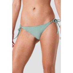 NA-KD Swimwear Metal Ring Tie Strap Panty - Green. Zielone bikini NA-KD Swimwear. Za 60,95 zł.