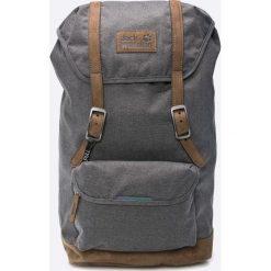 Jack Wolfskin - Plecak. Czarne plecaki męskie marki Jack Wolfskin, w paski, z materiału. W wyprzedaży za 399,90 zł.