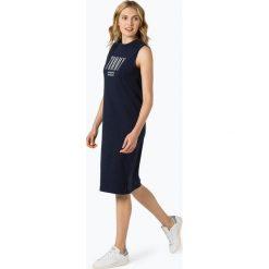 Tommy Jeans - Sukienka damska, niebieski. Niebieskie sukienki sportowe marki Tommy Jeans, xs, z dżerseju, sportowe. Za 299,95 zł.