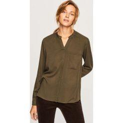 Koszula - Khaki. Brązowe koszule damskie Reserved. Za 79,99 zł.